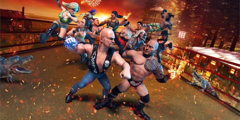 WWE 2K Battlegrounds : de nouveaux catcheurs arrivent