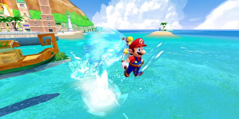 Super Mario 3D All-Stars : la manette GameCube compatible avec Sunshine