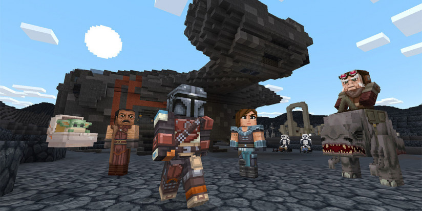 Un nouveau DLC Star Wars pour Minecraft