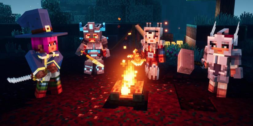 Le prochain DLC de Minecraft Dungeons est daté