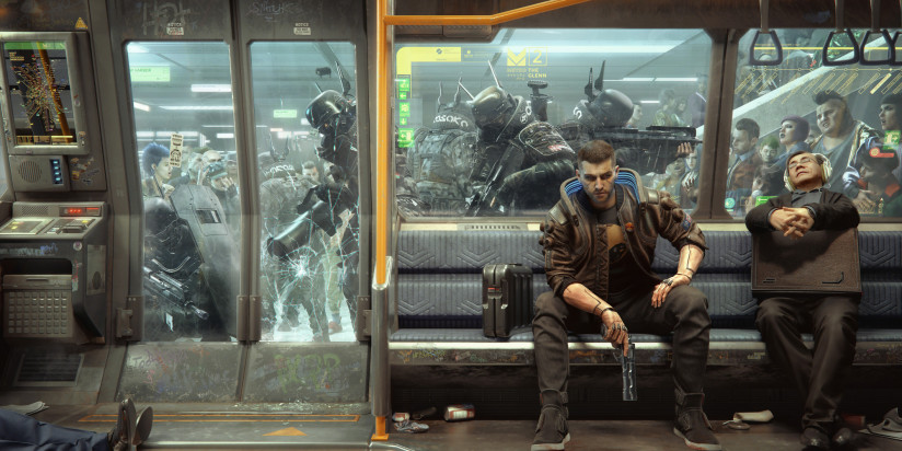 Cyberpunk 2077 : du gameplay sur PS5 et PS4 Pro