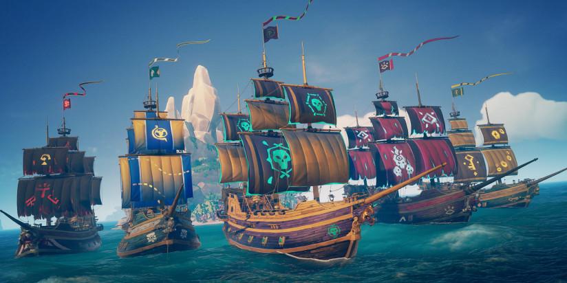 Sea of Thieves : Battle Pass et Saisons pour le mois prochain