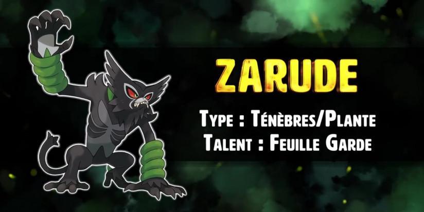 Pokémon Épée / Bouclier : Zarude de nouveau distribué