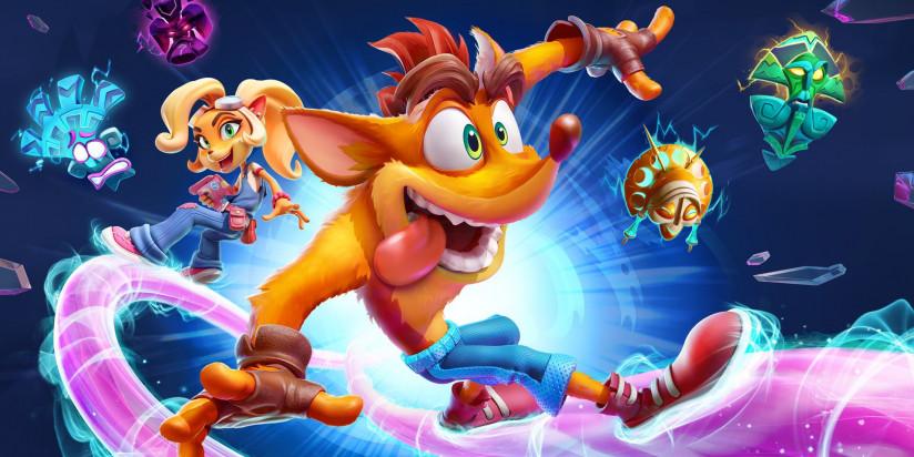 Crash Bandicoot 4 : It's About Time s'annonce sur PC, Switch, PS5 et Xbox Series