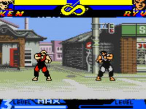 Street Fighter Alpha - GameBoy