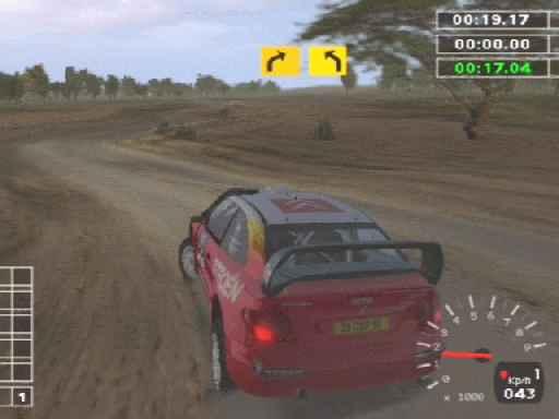 WRC 2 - PS2
