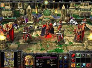 Warcraft III : Frozen throne - PC