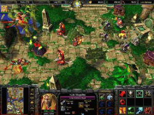 Warcraft III : Frozen throne - PC