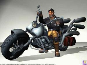 Full Throttle : Hell On Wheels - Xbox
