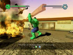 The Hulk - PS2