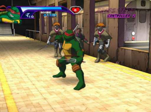 Teenage Mutant Ninja Turtles - Xbox