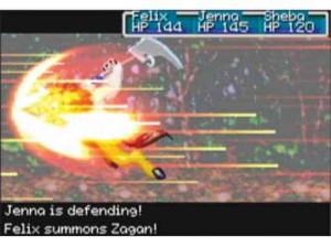Golden Sun 2 : L'Âge Perdu - GBA
