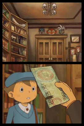 Professeur Layton et la Boîte de Pandore - DS