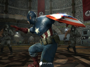 Captain America : Super Soldat - PSP