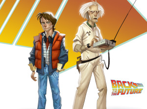 Back to the Future - Episode 101 : It's About Time - Wii