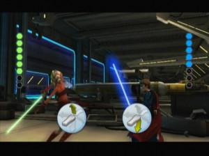 Star Wars The Clone Wars : Duels au Sabre Laser - Wii