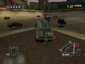Destruction Derby Raw - PlayStation