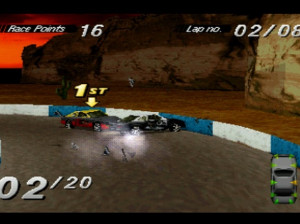 Destruction Derby - PlayStation