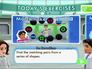 Dr. Kawashima's Body and Brain Exercices - Xbox 360