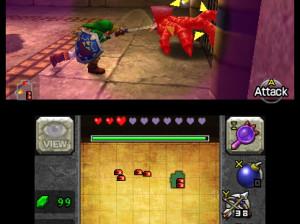 The Legend of Zelda : Ocarina of Time 3D - 3DS