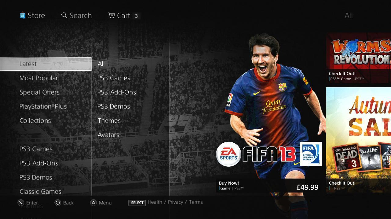 Sony Entertainment Network - PS3