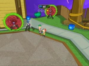 Phineas et Ferb : Voyage dans la Deuxième Dimension - PSP