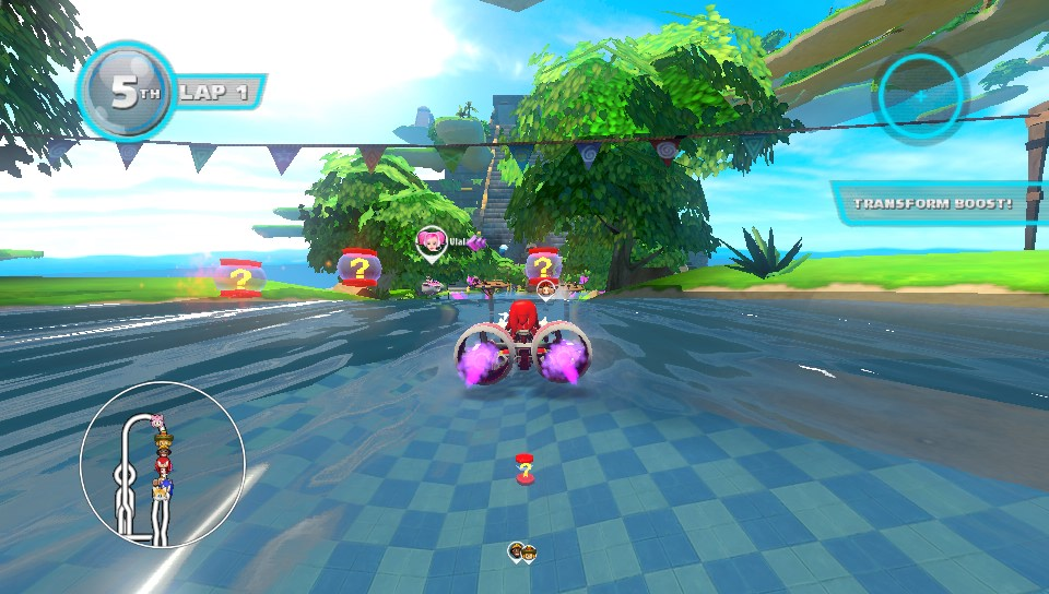 Sonic & All-Stars Racing : Transformed - PSVita