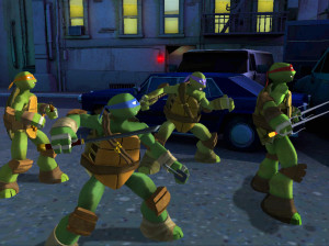 Nickelodeon : Teenage Mutant Ninja Turtles - Wii