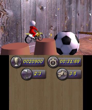 Toy Stunt Bike - 3DS