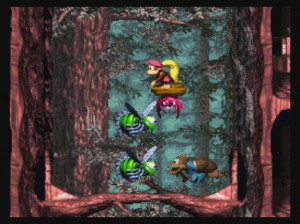 Donkey Kong Country 3 : Dixie Kong's Double Trouble - Wii U