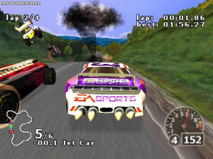 NASCAR Rumble - PlayStation