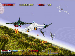 3D After Burner II - 3DS