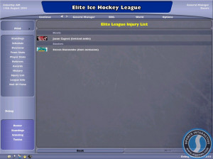 NHL Eastside Hockey Manager 2005 - PC