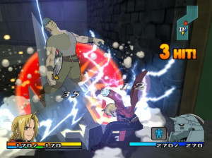 FullMetal Alchemist 2 : Curse of the Crimson Elixir - PS2