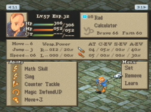 Final Fantasy Tactics - PlayStation