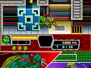 Teenage Mutant Ninja Turtles 3 : Mutant Nightmare - DS
