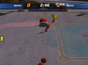 Mario Smash Football - Gamecube