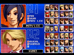 The King of Fighters 2002 - PS2