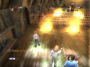 Harry Potter et la coupe de feu - DS