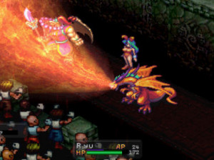 Breath of Fire 3 - PSP