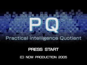 PQ : Pratical Intelligence Quotient - PSP