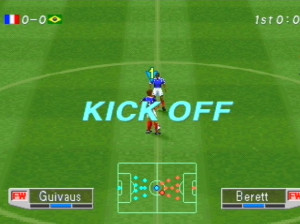 International Superstar Soccer Pro 98 - PlayStation
