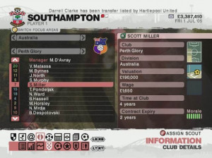 F.C. Manager 2006 : La passion du foot - Xbox 360