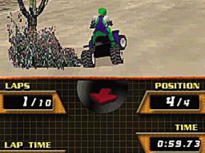 Quad Desert Fury 2 - DS