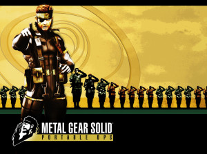 Metal Gear Solid : Portable Ops - PSP