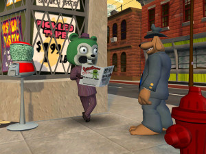 Sam & Max Season 1 Episode 3 : The Mole, The Mob And The Meatball - PC