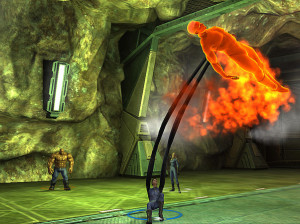 Fantastic 4 : Rise of the Silver Surfer - Wii