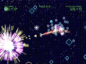 Geometry Wars Galaxies - Wii