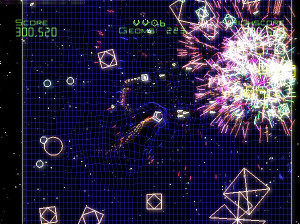 Geometry Wars Galaxies - Wii