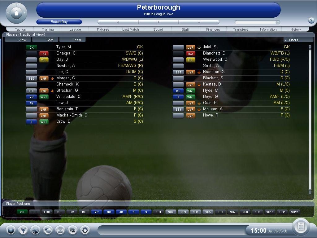 L'Entraîneur 2008 - PC